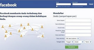 fb, Cara membuat account fb atau facebook