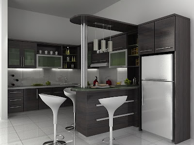 desain dapur menarik 2014