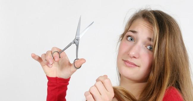 себе брить самой сонник волосы