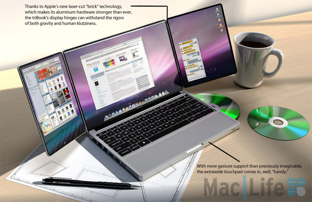 TriBook Apple Concept