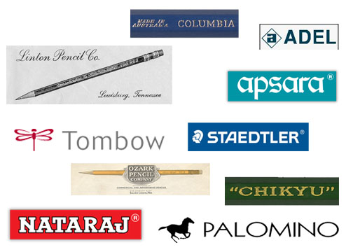 top 10 pencil brands in world