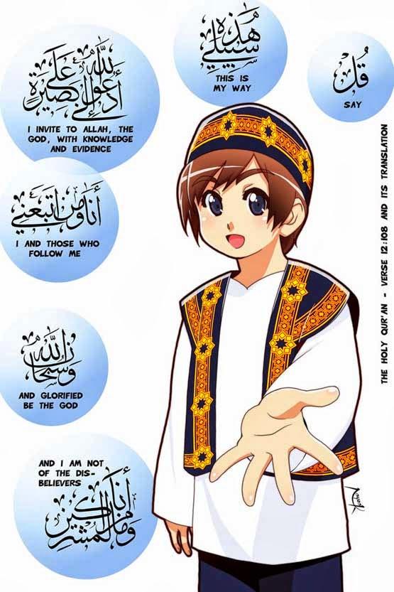 87 Gambar Gambar Kartun Muslim Paling Keren