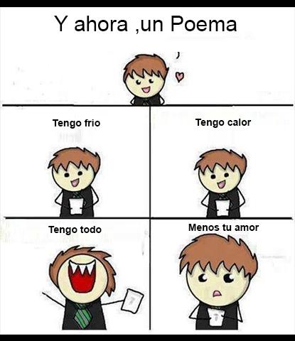Ahora un poema