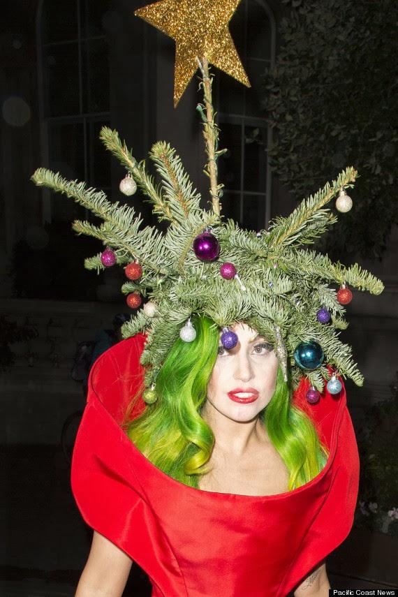 Youtube Lady Gaga Christmas Tree