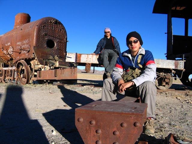 cementerio trenes, Uyuni, Bolivia