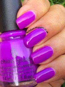 China Glaze Violet Vibes Swatch
