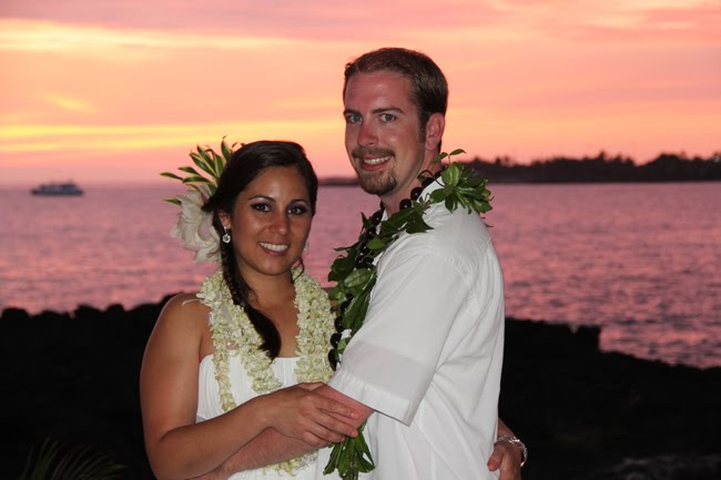 My two best friends Tiffany and Kenny had an intimate Hawaiian wedding at