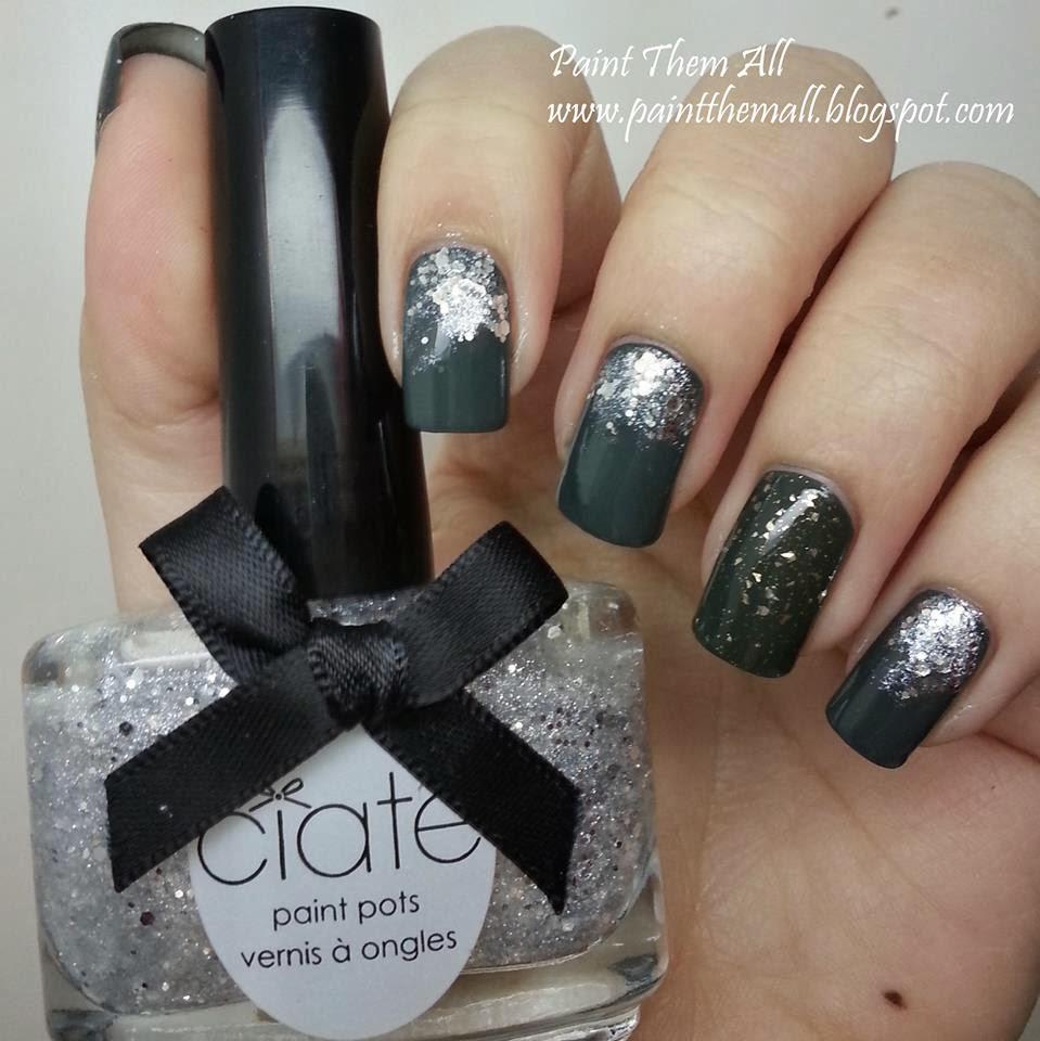 Glitter Gradient with Ga-de Military Style & Ciate Locket