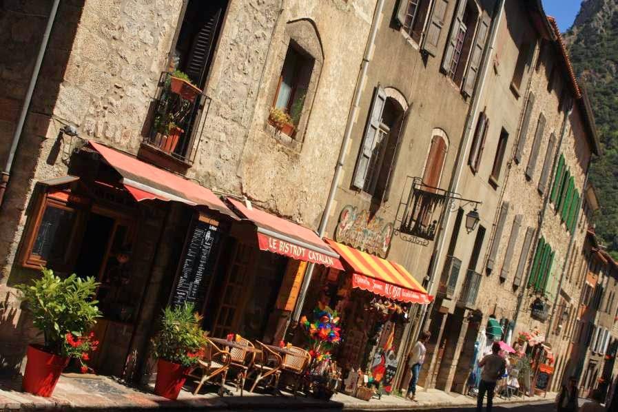 Rue de Saint-Jaques in Villefranche de Conflent