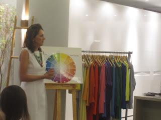 Fashion Color :Palestra sobre Harmonia nas Cores