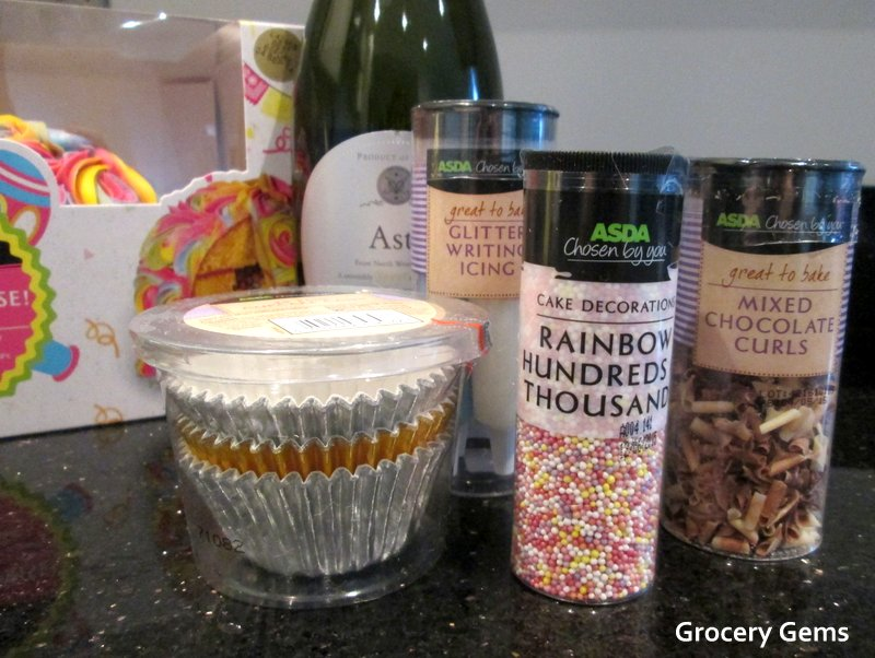 Asda Photo Cake Decorations : Grocery Gems: National Cupcake Week: Custard Cream ...