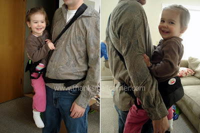 Handsfree Cuddles for Daddy! - Click to see more