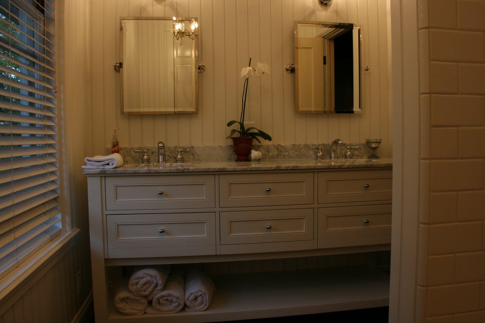 vignette design: a 30 day bathroom remodel reveal
