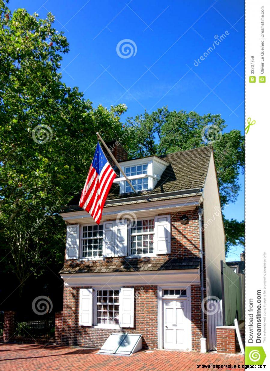 Betsy Ross House In Old Philadelphia Pennsylvania Royalty Free