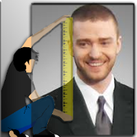 What is the height of Justine Timberlake?