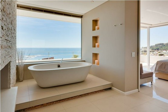 Tub With A Beach View