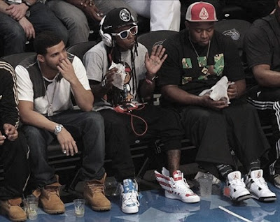 Lil Wayne, Mack Maine e Drizzy Drake
