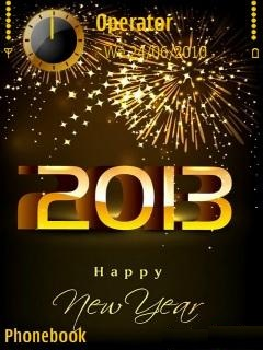 Happy New Year 2013 Themes Mobiles
