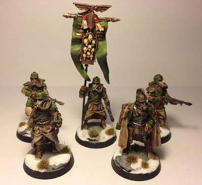 Death Korps of Krieg HQ Command Squad