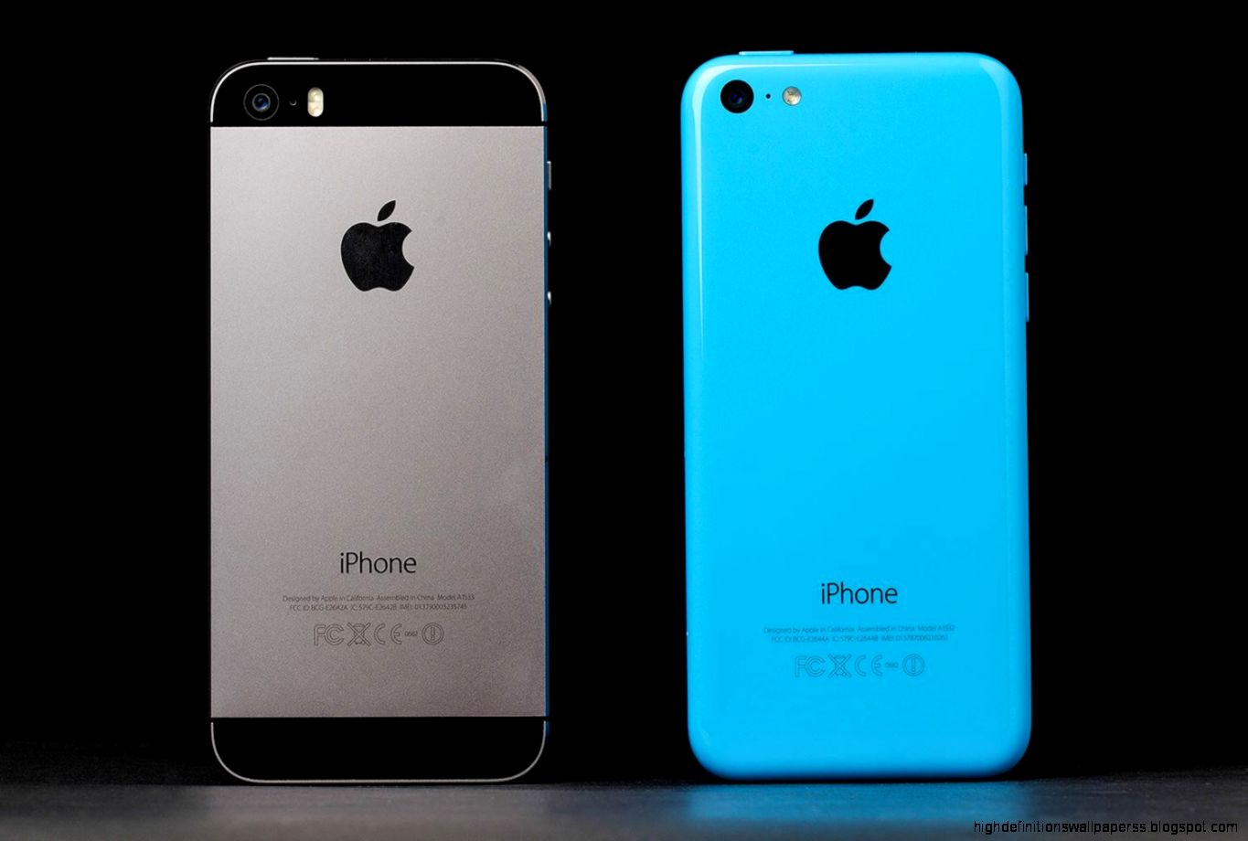 apple iphone 5c vs 5s grey wallpaper | high definitions wallpapers