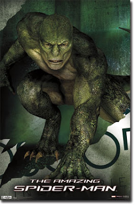 Amazing Spider-Man promo poster shows Lizard