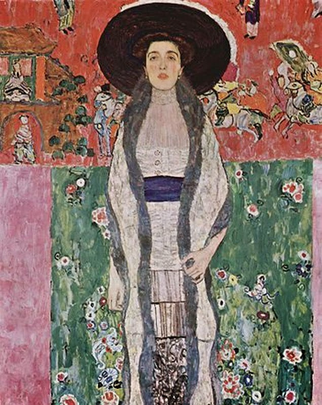 Gustav Klimt Portrait of Adele Bloch-Bauer II