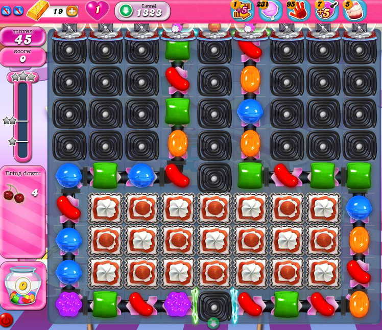 Candy Crush Saga 1308