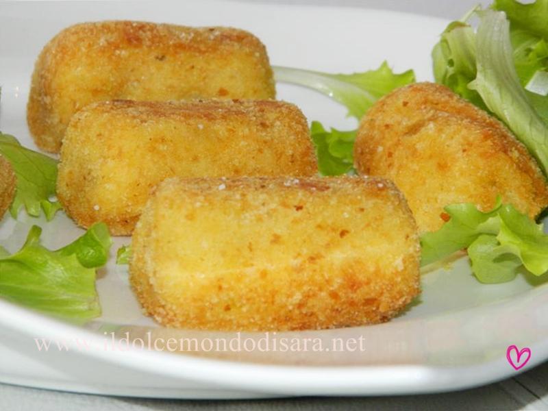 Crocchette di patate e mozzarella di benedetta parodi da for Mozzarella in carrozza parodi