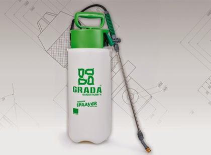 Opryskiwacz ciśnieniowy 5 litrów GRADA z Biedronki
