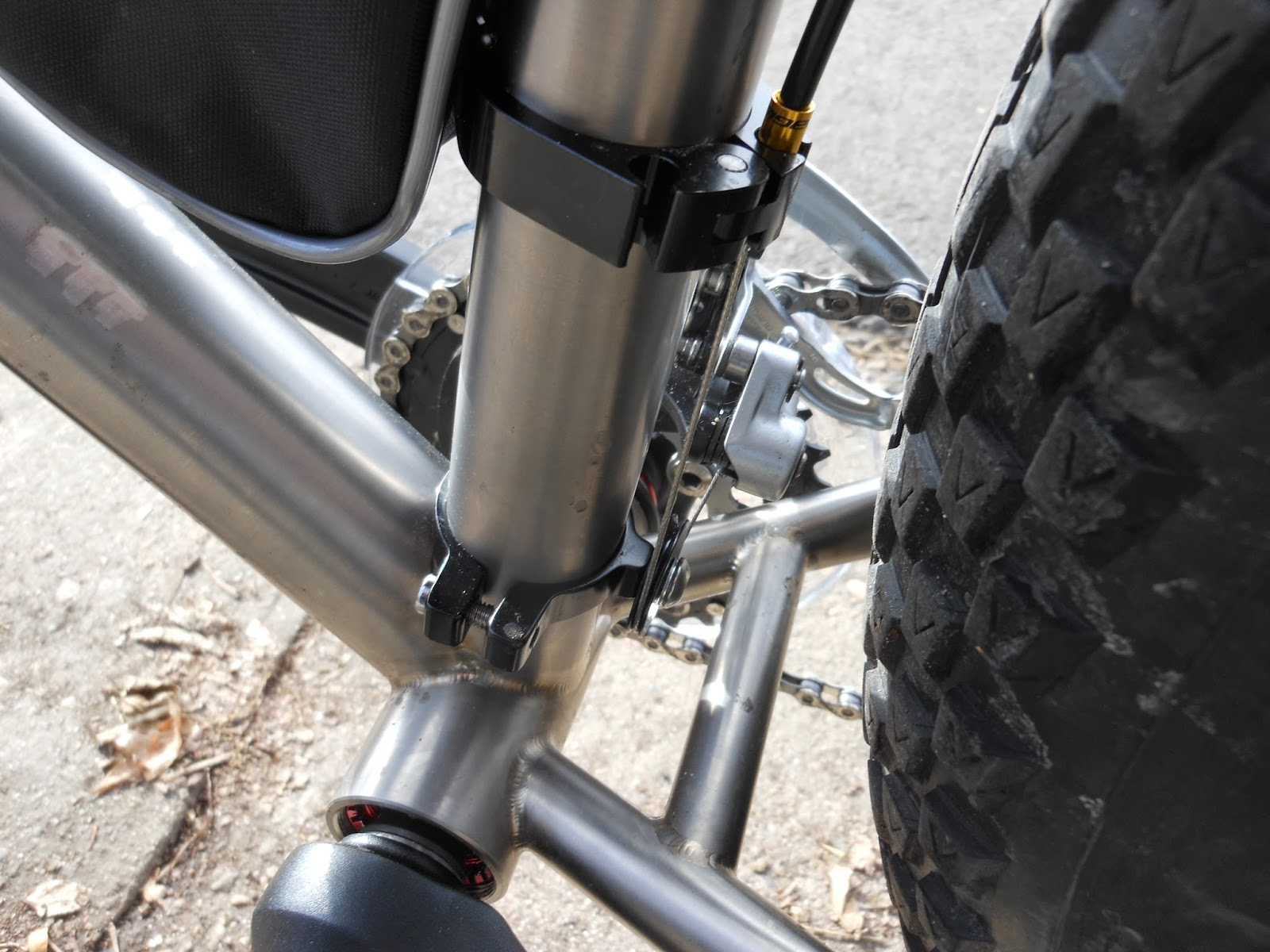 Two Wheels - Six Strings: More Work On The Fat Ti Bike, And a Trip ...