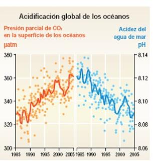 Cambio Climático y la Acidificación del océano