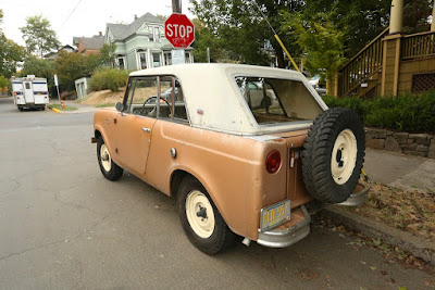 1967 International Harvester Scout 800 Sportop