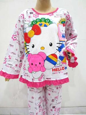 baju tidur anak perempuan umur 2 tahun