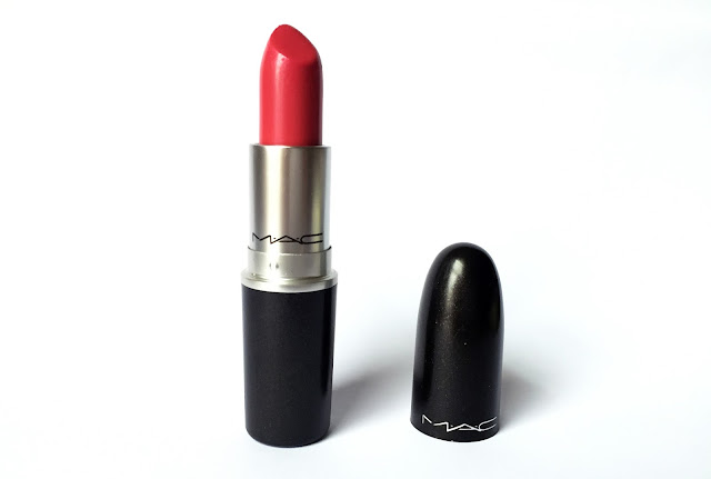 MAC Lipstick Speak Louder Poppy Blue Pink Shade Review Australia