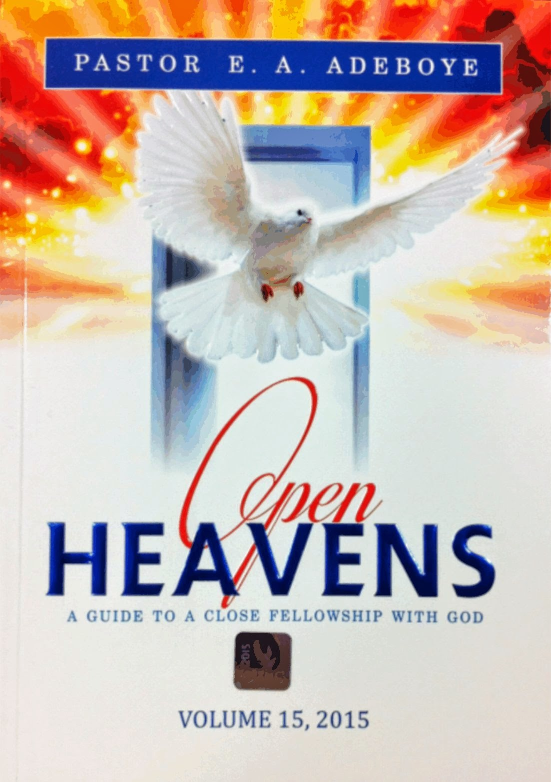Losing Your Relevance? ~ Pastor E. A. Adeboye | Open Heavens 5/3/2015