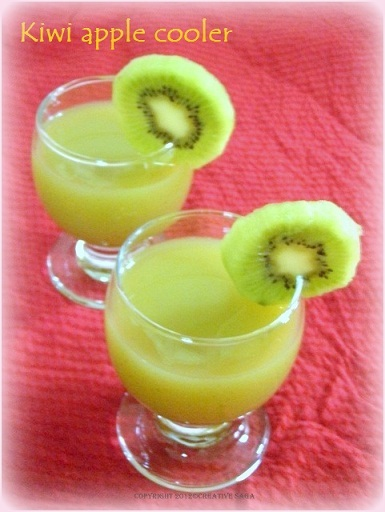 Kiwi apple juice recipe