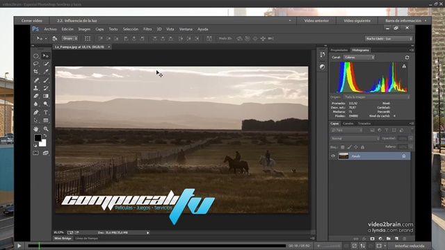 Curso Video2Brain: Especial Photoshop: Sombras y luces