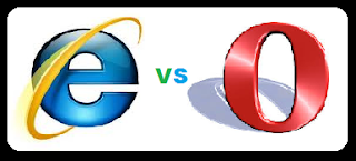 Browser Internet Explorer vs Opera