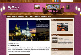 MyHome Blogger Template