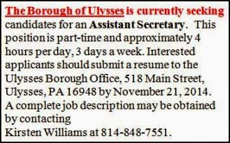 Assistant Secretary--Ulysses Boro