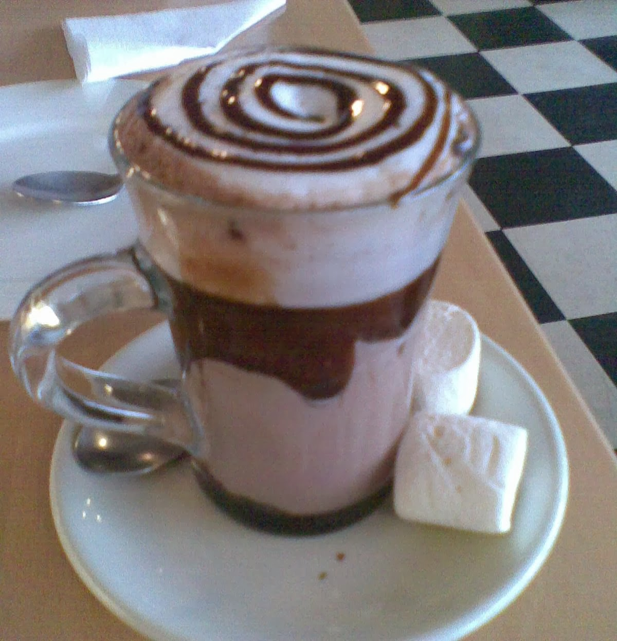 Decorative Hot Chocolate