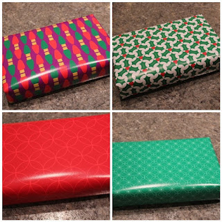 My collection of giftwrap now available at Spoonflower