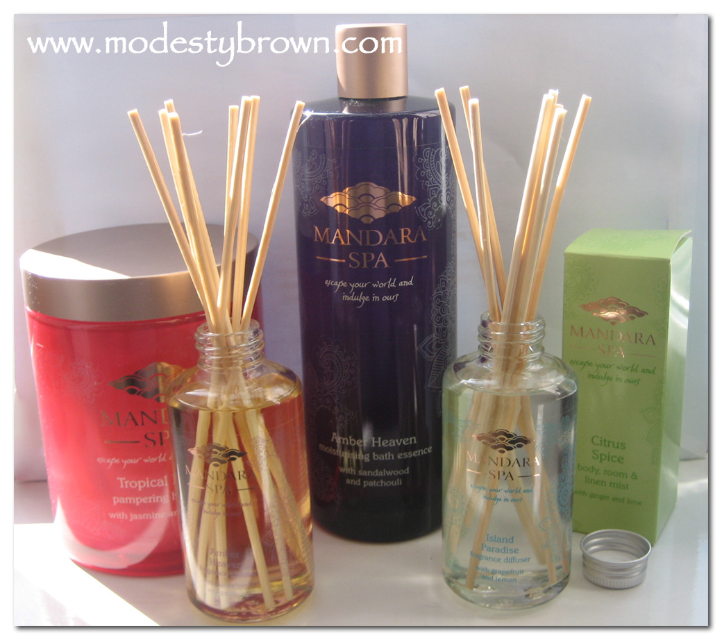 Modesty Brown Mothers Day Ideas Mandara Spa At Sainsburys - Bathroom scent ideas