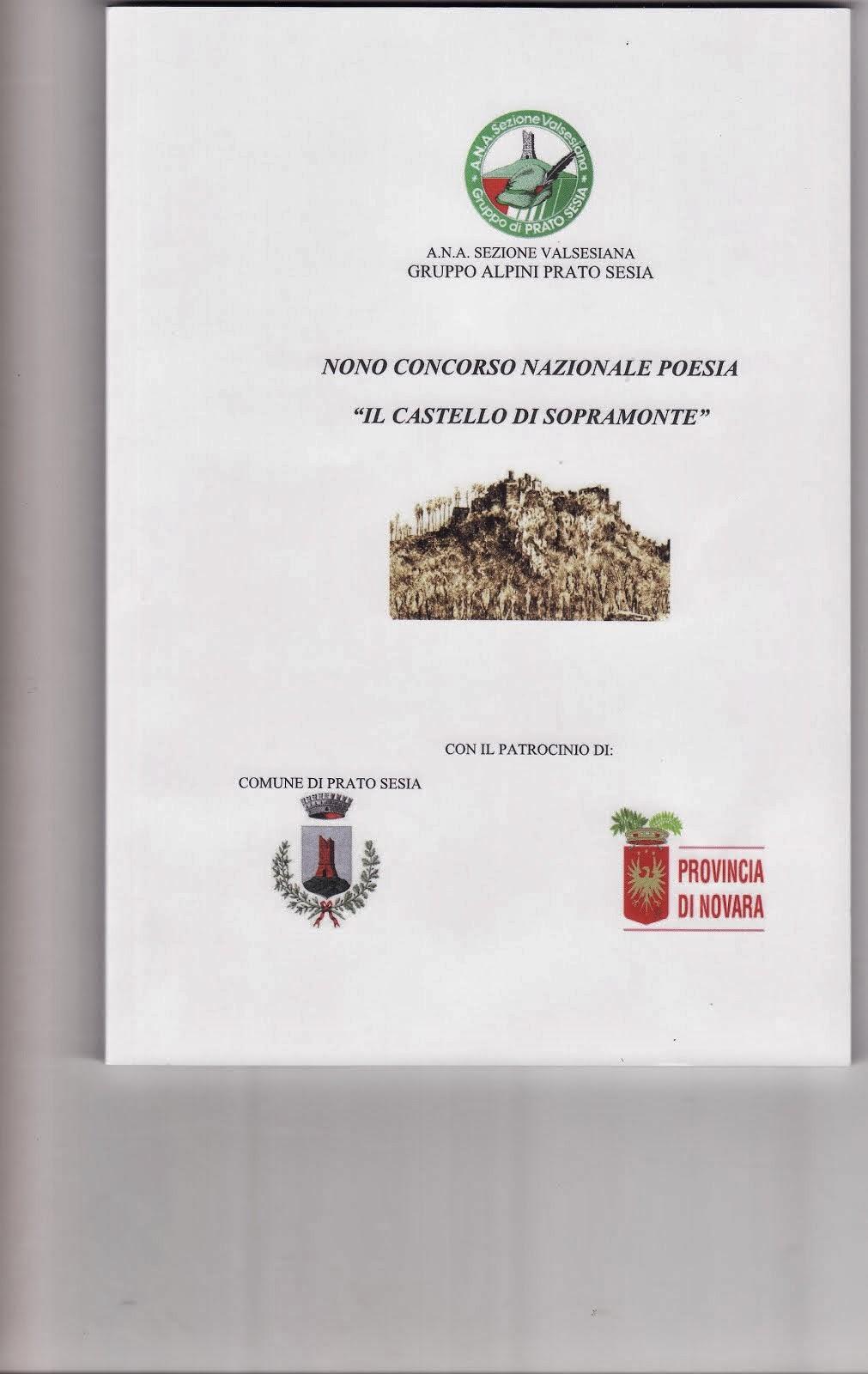 """"""" IL CASTELLO DI SOPRAMONTE""""Antologia A.V. 2013-"""