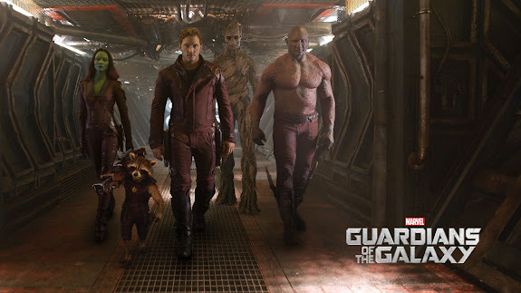 guardians of the galaxy movie characters 2014