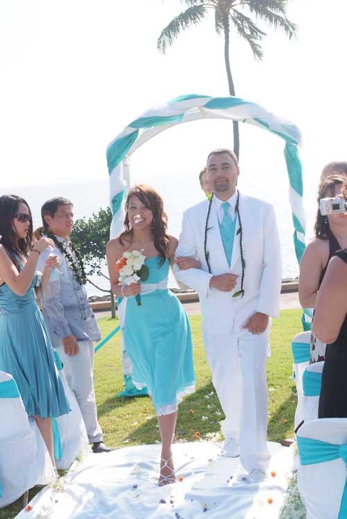 WhiteAzalea Destination Dresses Color Your Beach Wedding With Blue
