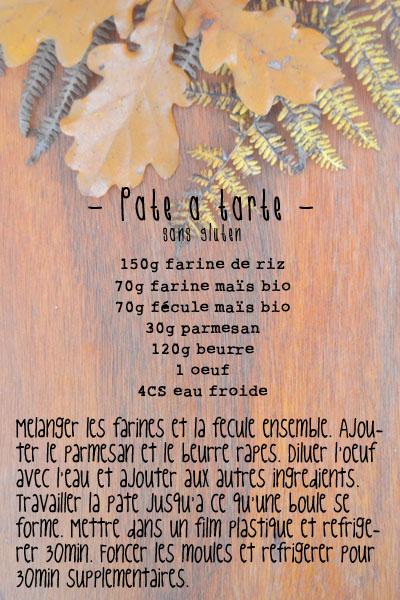 recette pate tarte sans gluten