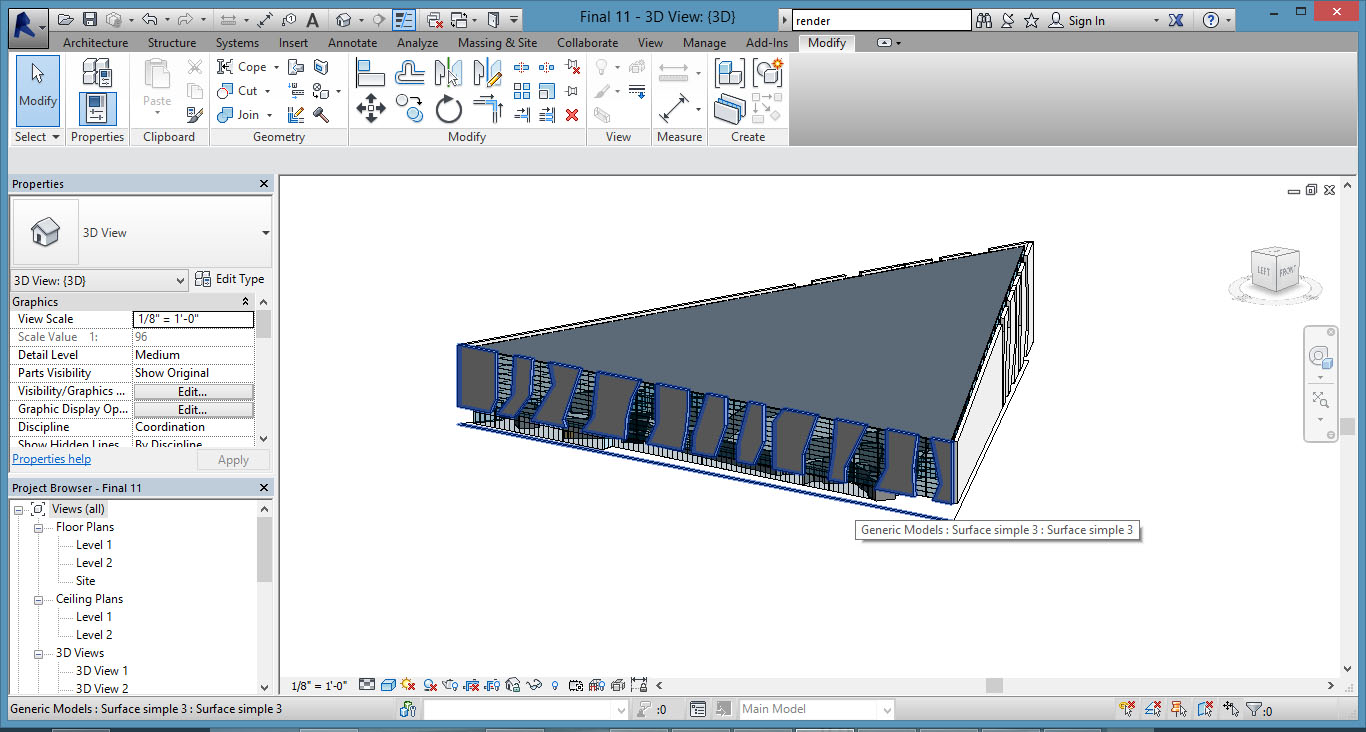 Building Information Modeling Project   Arsalan Gharaveis's new blog