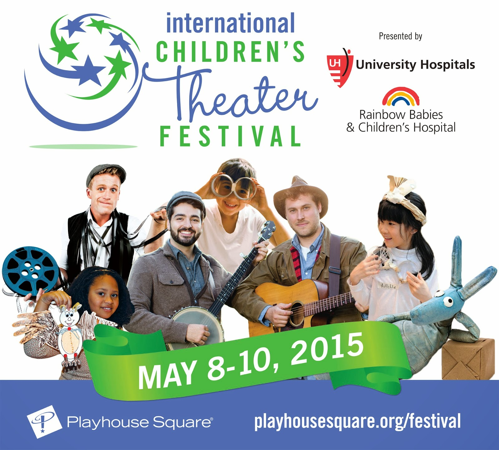 International Children's Theater at Playhouse Square May 8 - 10 - Win Tickets to See Timber!