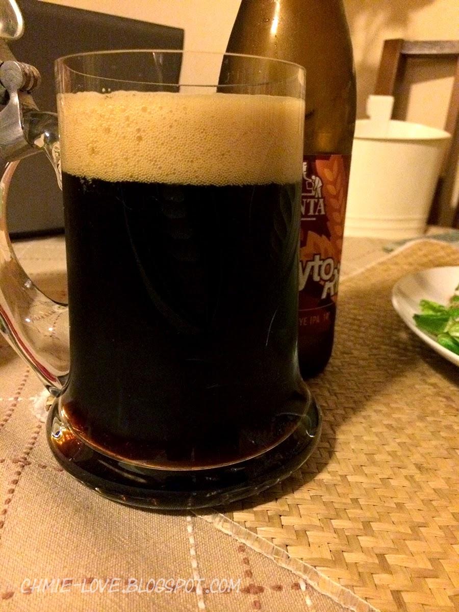 ŻytoRillo, Black Rye IPA z browaru Pinta